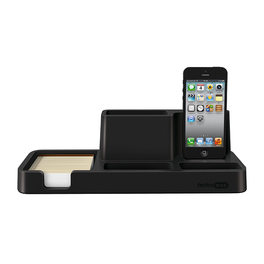 6606 Technomas Iphone Charger Desk Organizer